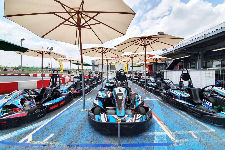 Harbor Circuit RX-8 Go-karts
