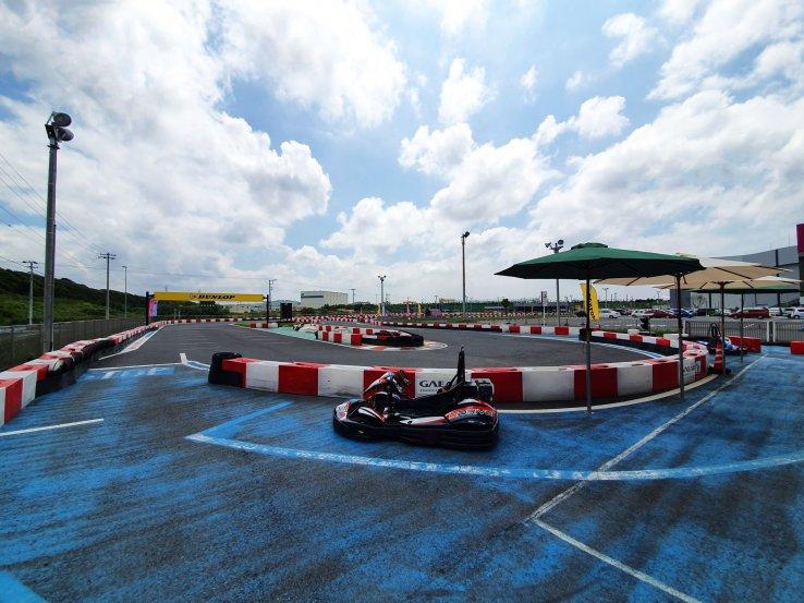 Harbor Circuit Outdoor Karting Kisazaru - Chiba - Japan Travel