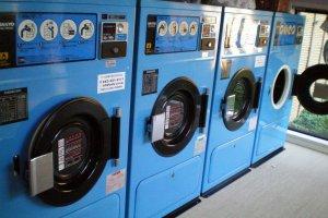 Washing and drying facilities