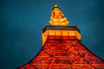 Tokyo Tower, an icon of the city