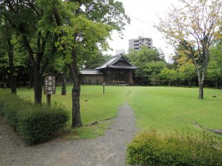 A Noh theater stage
