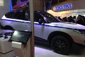 Большинство автомобилей можно изучить посредством интерактивного экрана