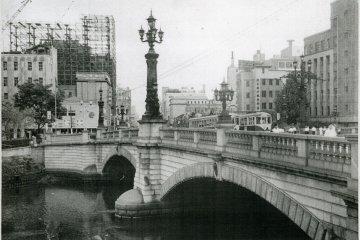 The bridge prior to World War 2