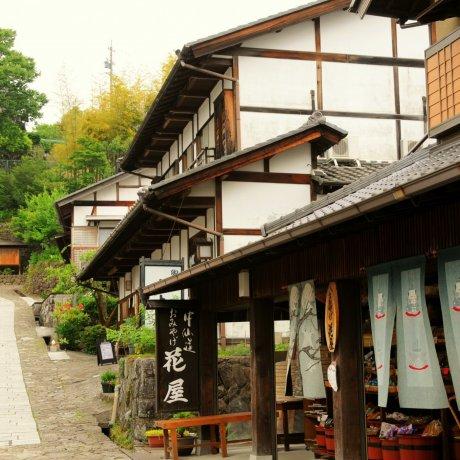 Thị trấn cổ Magome-juku ở thung lũng Kiso
