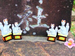 Inari figurines