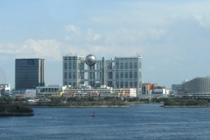 Odaiba water front