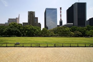 The event takes place on the grounds of Tokyo's Hibiya Park