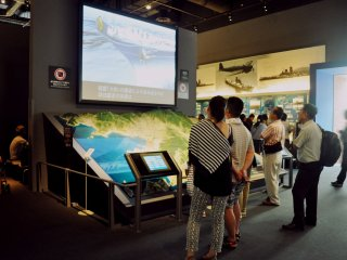The museum also focuses on the rise of Kure as a major military port in Japan.