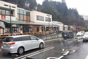 Wet day in Ibaraki