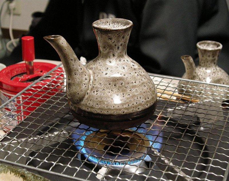 Warm sake is known as kanzake