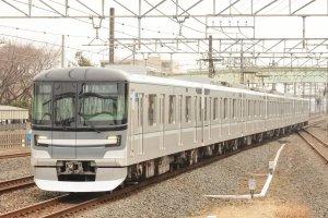 The new Hibiya Line train