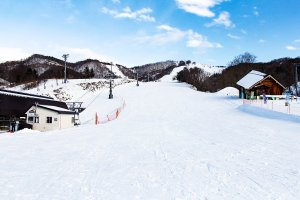 Yubari ski slope
