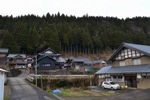武周町の風景