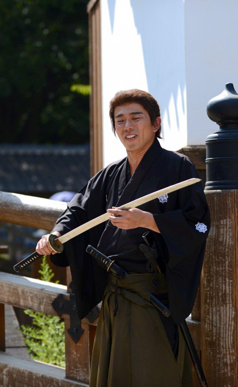 A samurai model