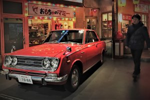 The third generation Toyota Corolla was launched in 1964 around the Tokyo Olympics and competed with the Bluebird for domestic and international markets