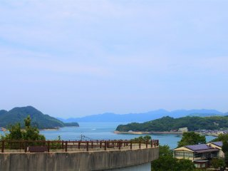 The scenery of Shimanami Kaido