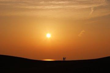 Les Dunes de Sables de Tottori