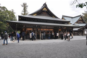 Ise Shrine: outer temple