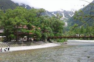 Kamikochi - Le pont Kappa (kappabashi)