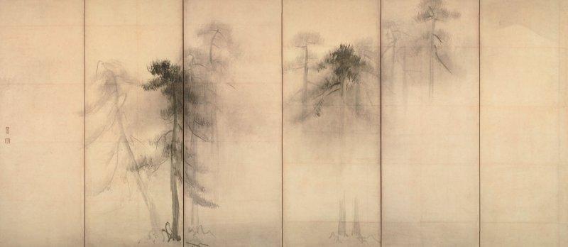 Pine trees, Tokyo National Museum