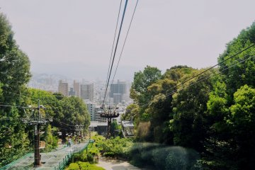 The ropeway is faster and comfortable; but you won't have to wait for a chairlift.