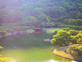 Ritsurin Park scenery