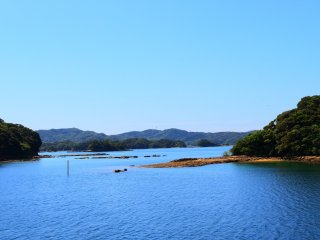 The Kujuku Islands scenery