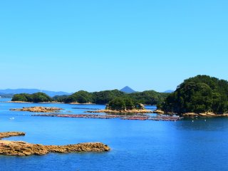 Kujuku Islands scenery