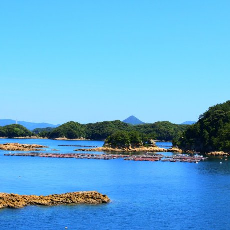 The Kujuku Islands of Nagasaki