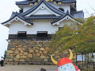 Hikone Castle with Hikonyan