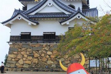 Hikone Castle with Hikonyan