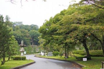 Genkyuen Garden scenery