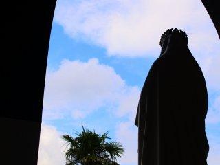入口から眺める景色
