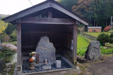 13 Christian Jizo Statues