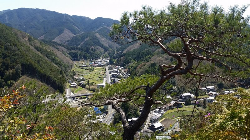 Amami village from the top of Kanaeyama