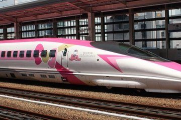 The shinkansen in all its glory!