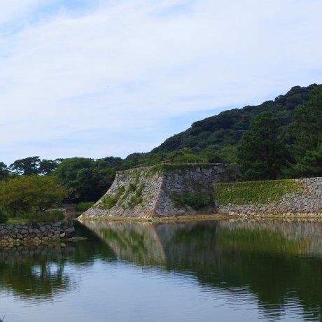 Hagi Castle Ruins in Shizuki Park