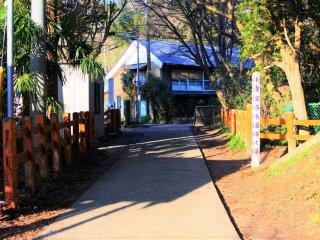 The path near Okunomiya