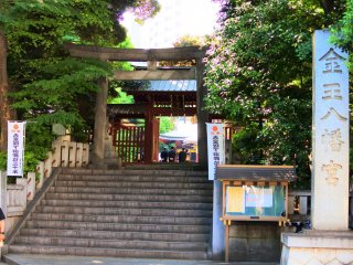 The entrance of the shrine