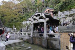 來去清水寺 音羽の滝
