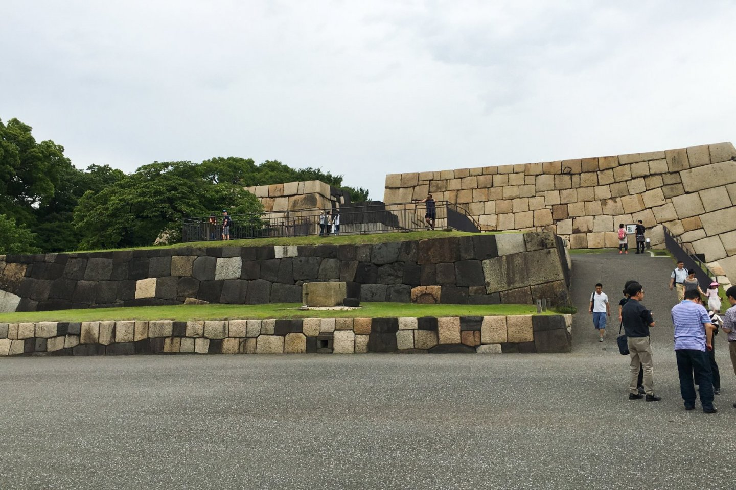 Tower foundation, Edo Castle