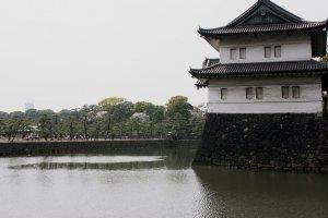 Edo Castle moat