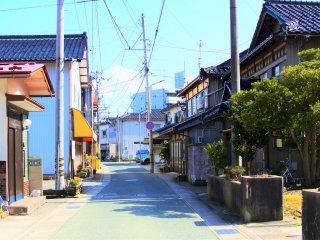 和倉温泉の町並み