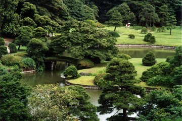 A National Special Place of Scenic Beauty in Tokyo