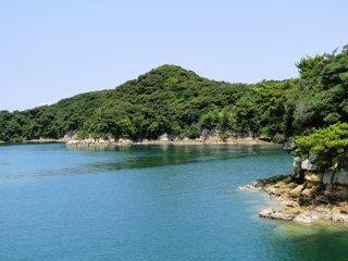 Les croisières pour les îles partent du Saikai Pearl Resort