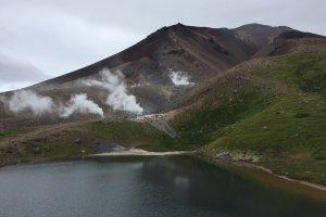 Les fameuses bouches volcaniques