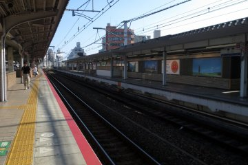 Multi-platforms at one of the busiest stations in Hyogo