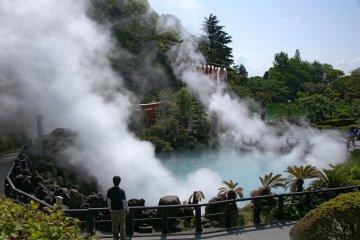 Beppu Jigoku hot springs, Oita
