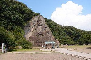 Nokogiri Mountain's stone Buddha, Chiba