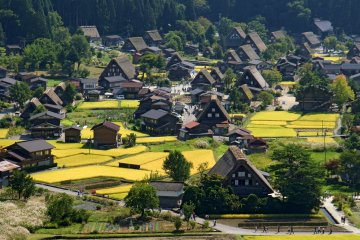 Shirakawa-go village, Gifu